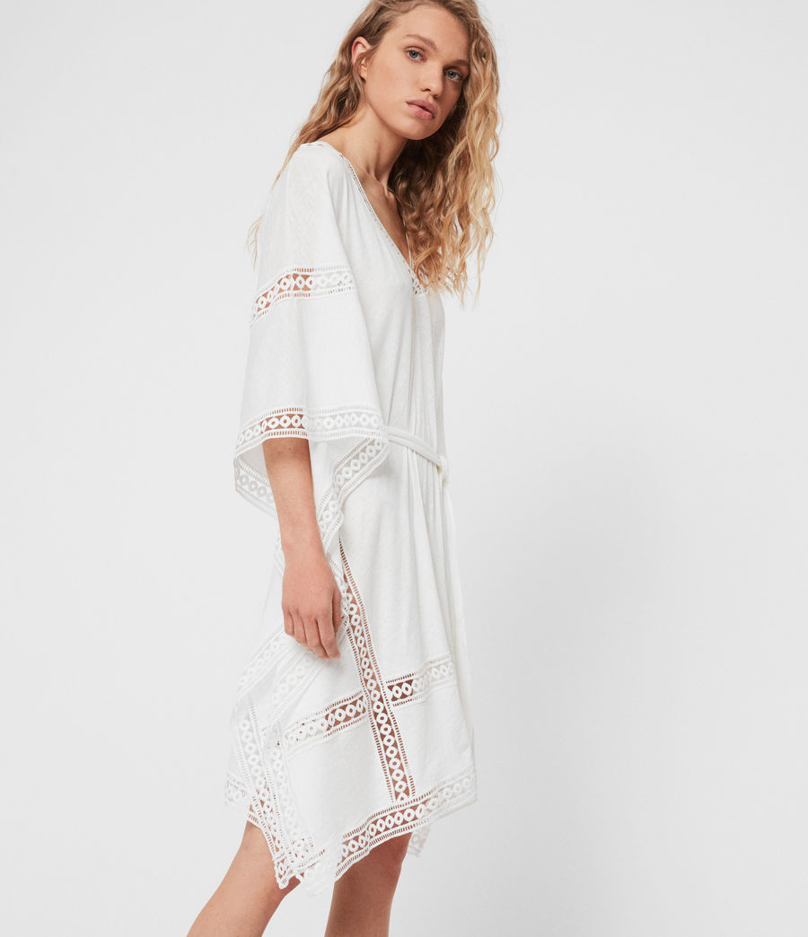 Women's Trine Cover-up Dress (chalk_white) - Image 2