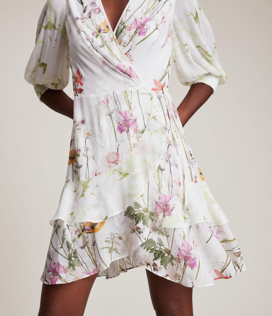 Women's Ari Tempus Dress (white) - Image 3