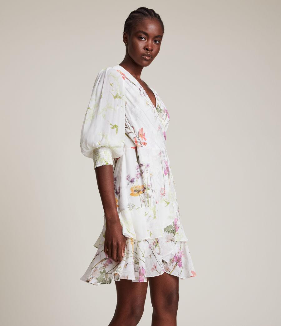 Women's Ari Tempus Dress (white) - Image 4