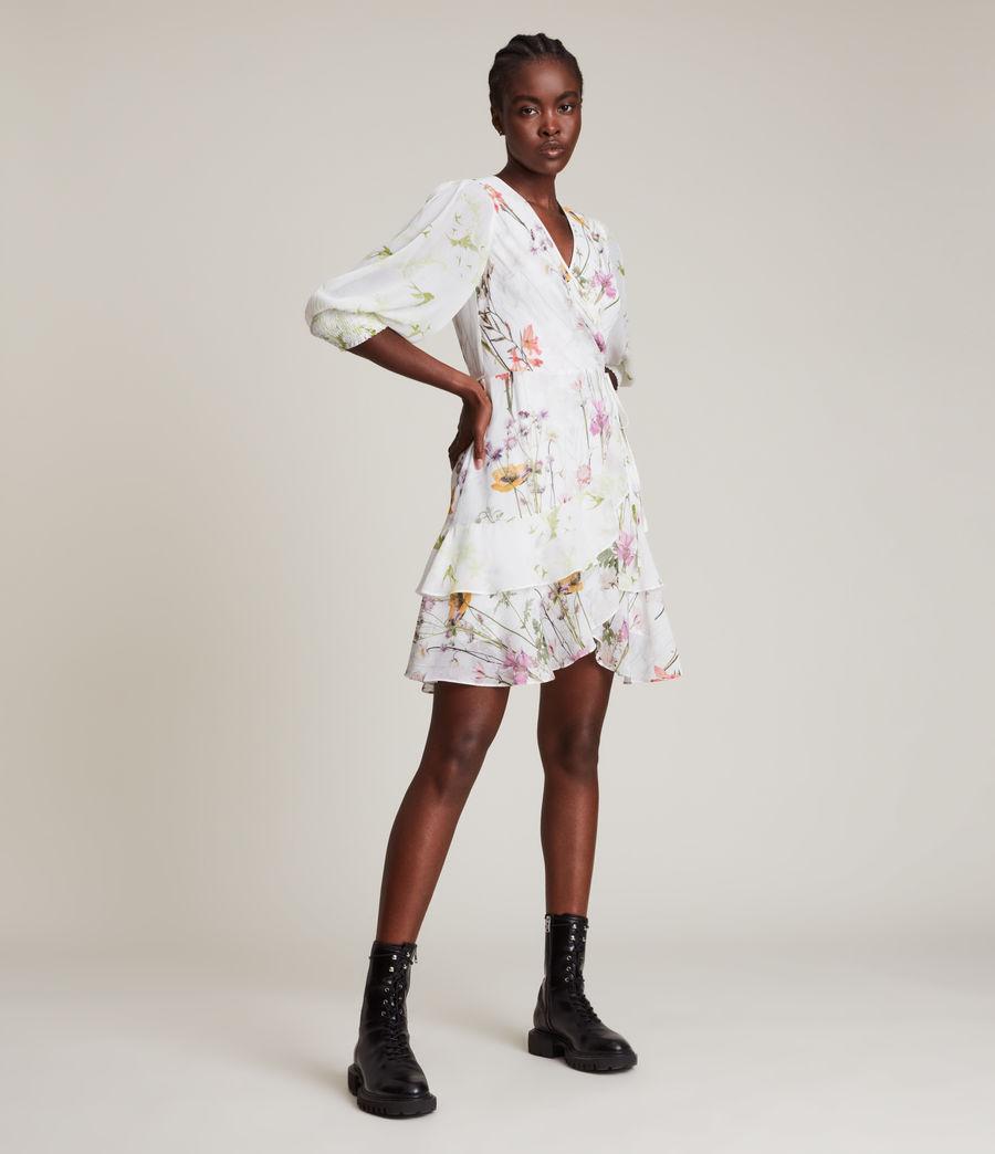 Women's Ari Tempus Dress (white) - Image 5