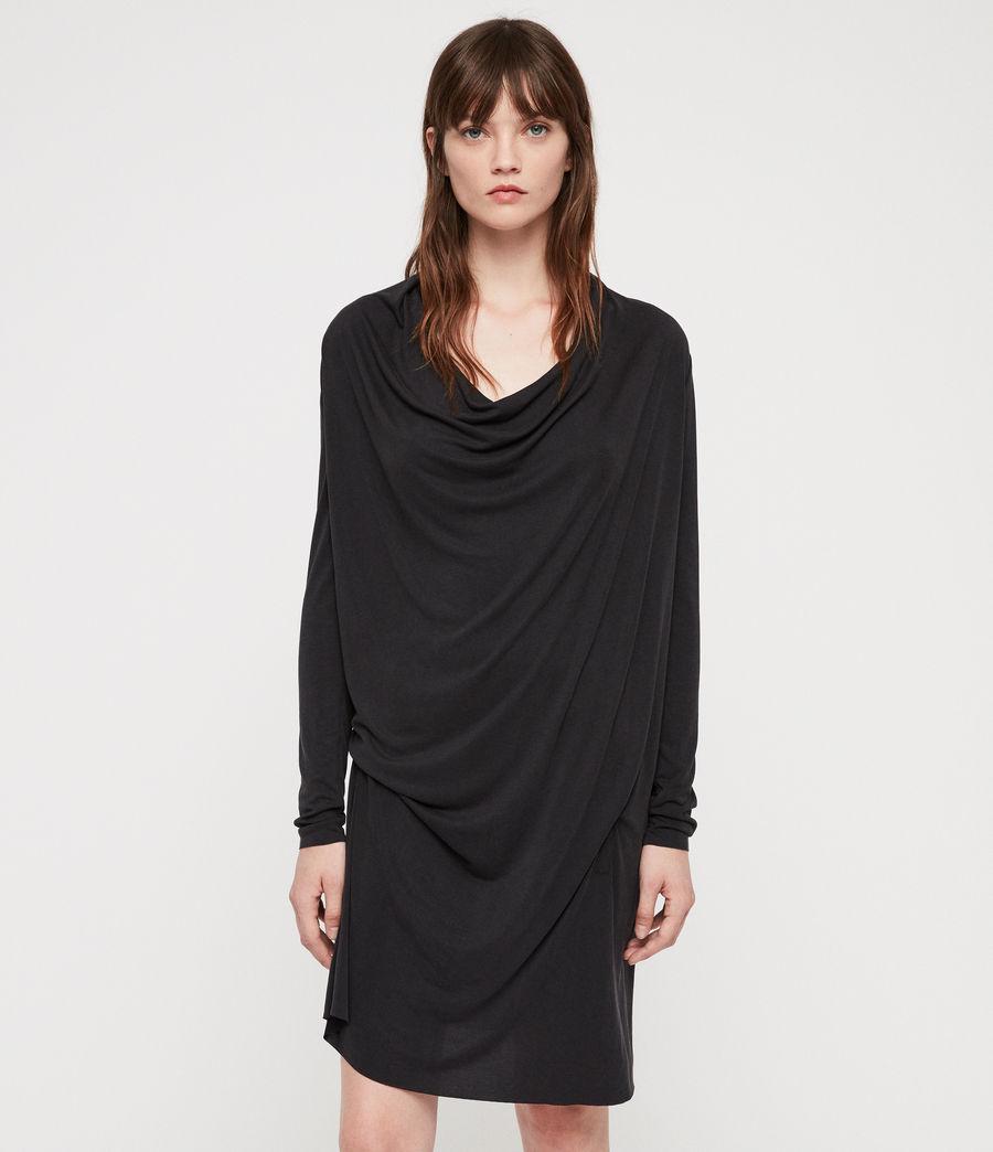 Femmes Robe Amei (black) - Image 1