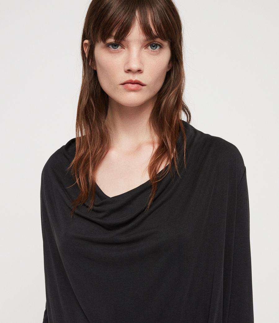 Femmes Robe Amei (black) - Image 2