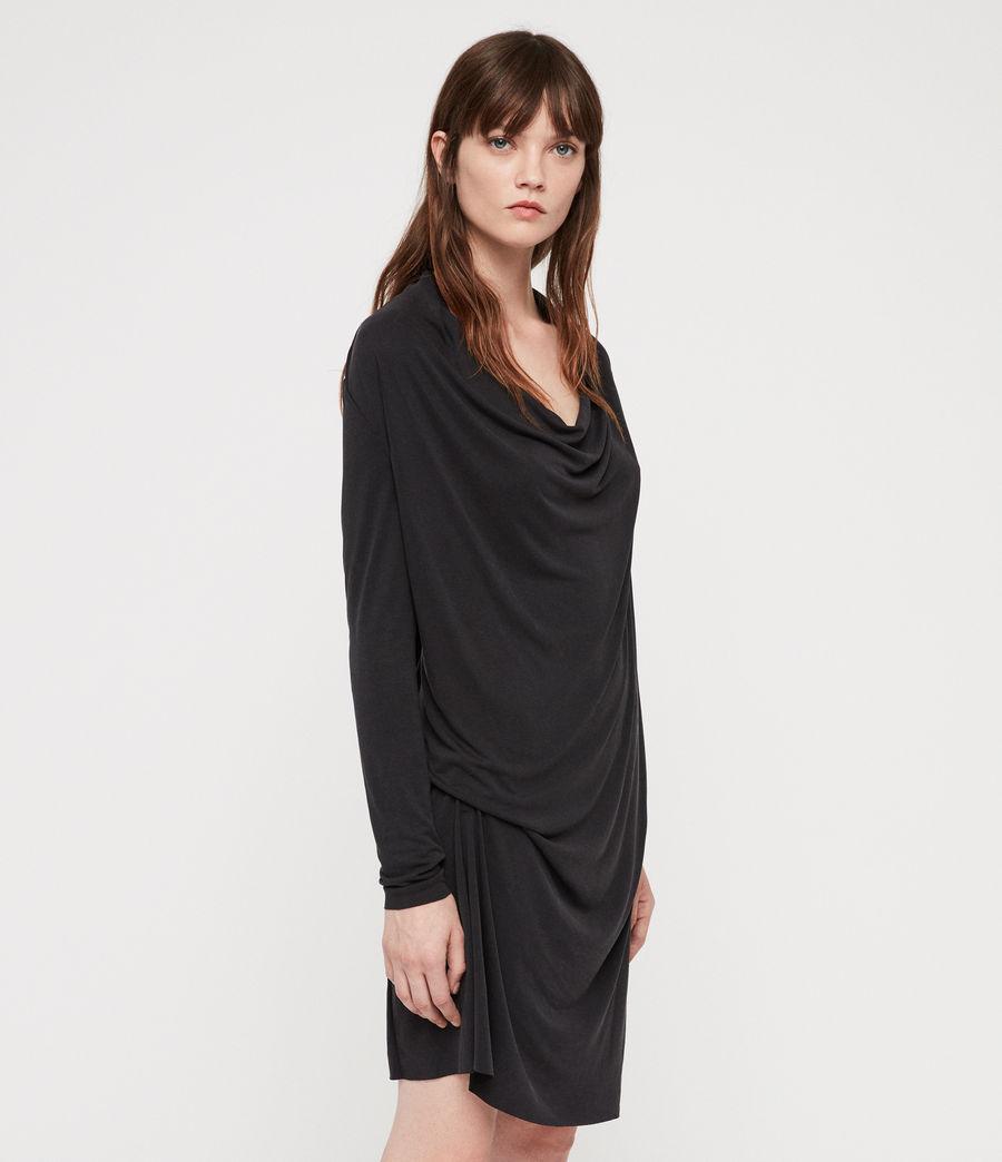 Femmes Robe Amei (black) - Image 3