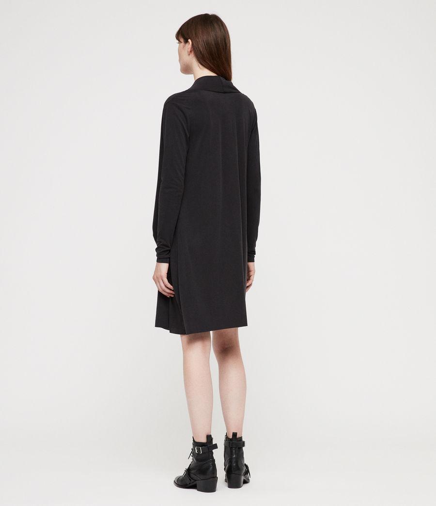 Femmes Robe Amei (black) - Image 4