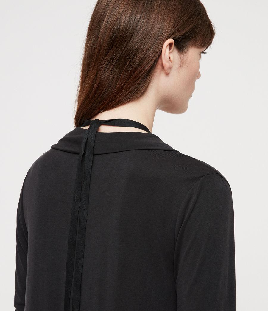 Femmes Robe Amei (black) - Image 5
