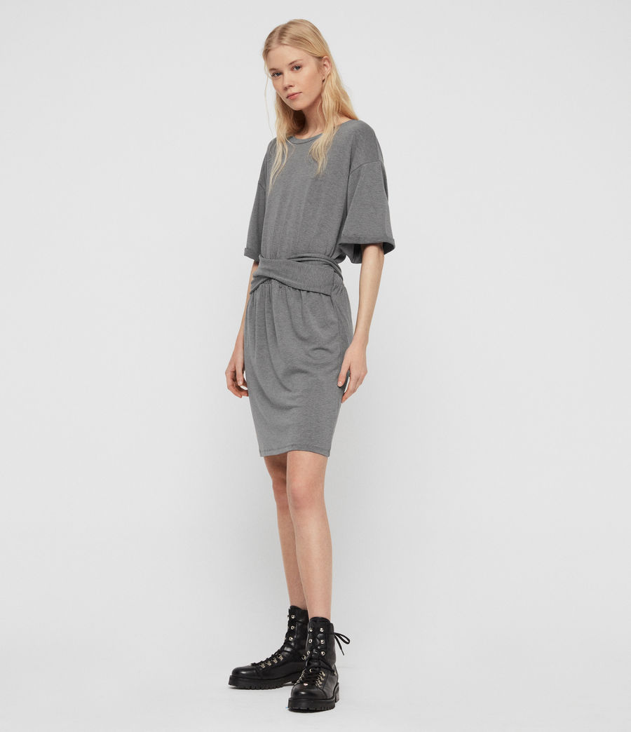 Mujer Tuja Dress (grey_marl) - Image 1