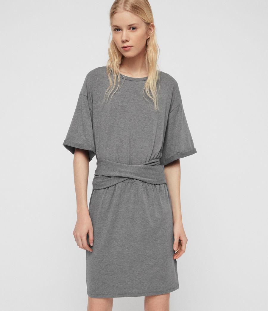 Mujer Tuja Dress (grey_marl) - Image 2