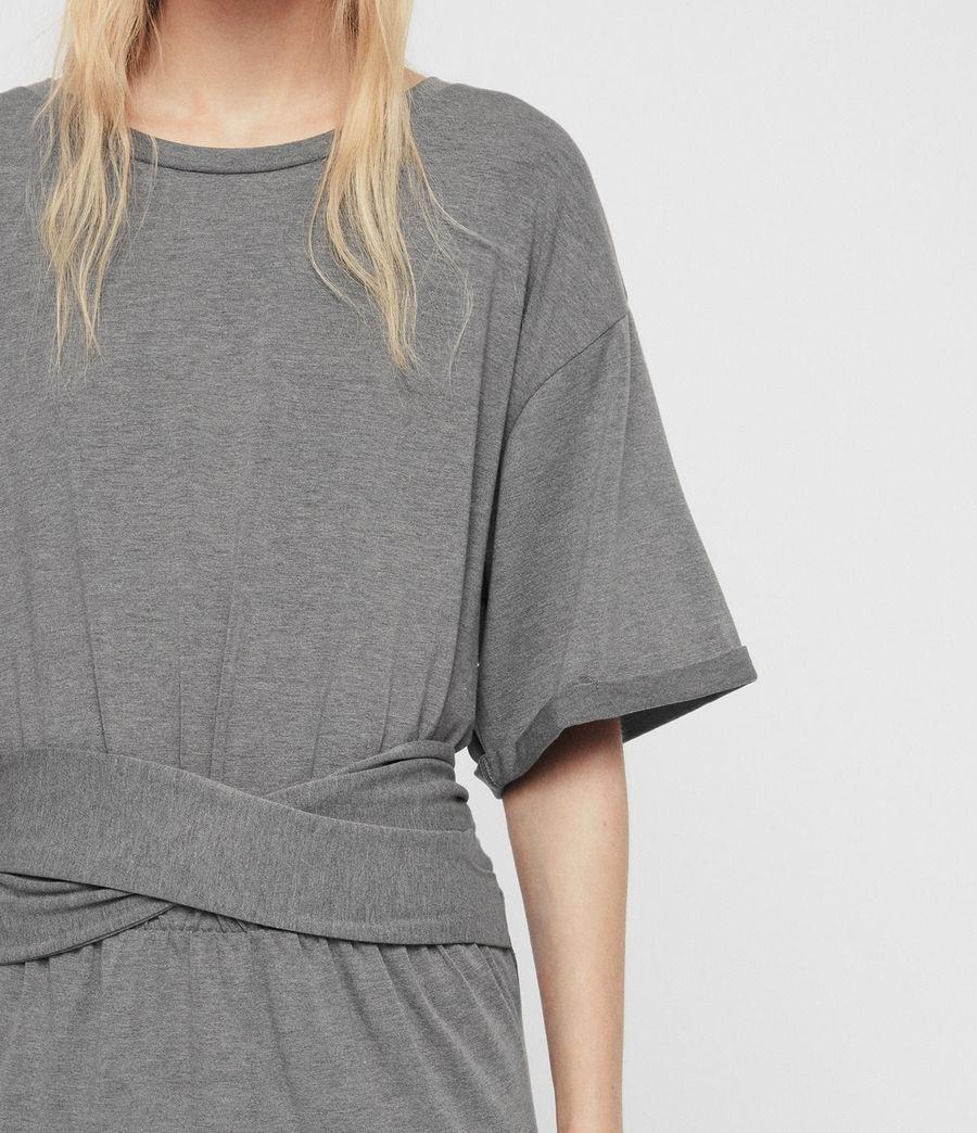 Mujer Tuja Dress (grey_marl) - Image 3