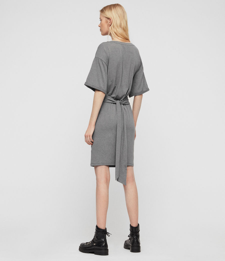 Mujer Tuja Dress (grey_marl) - Image 4