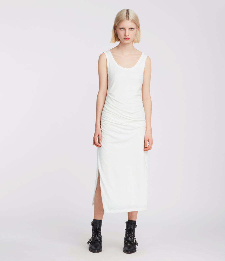 Womens Tina Dress (chalk_white) - Image 1