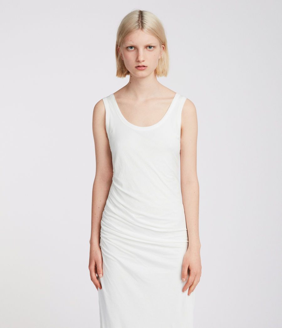 Womens Tina Dress (chalk_white) - Image 2