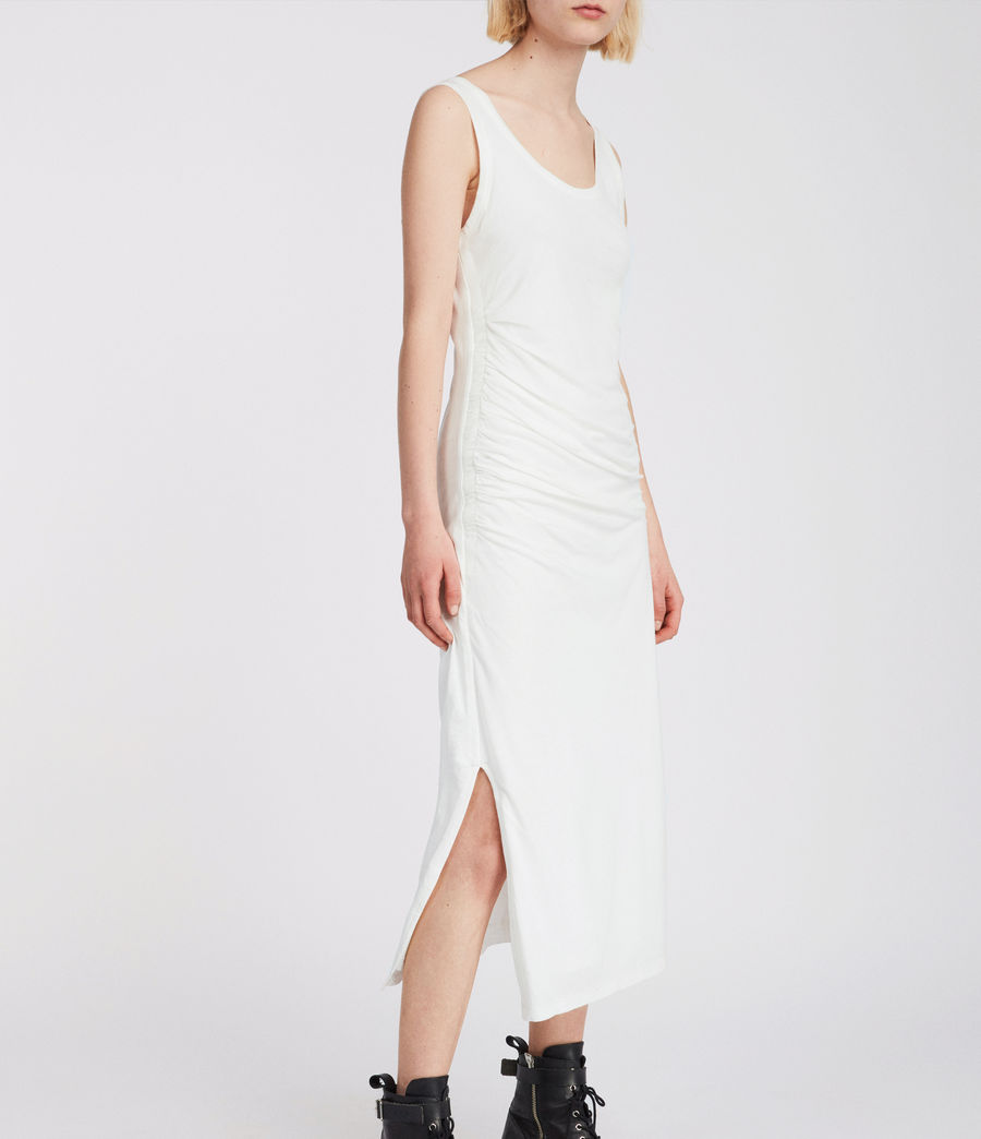 Womens Tina Dress (chalk_white) - Image 3
