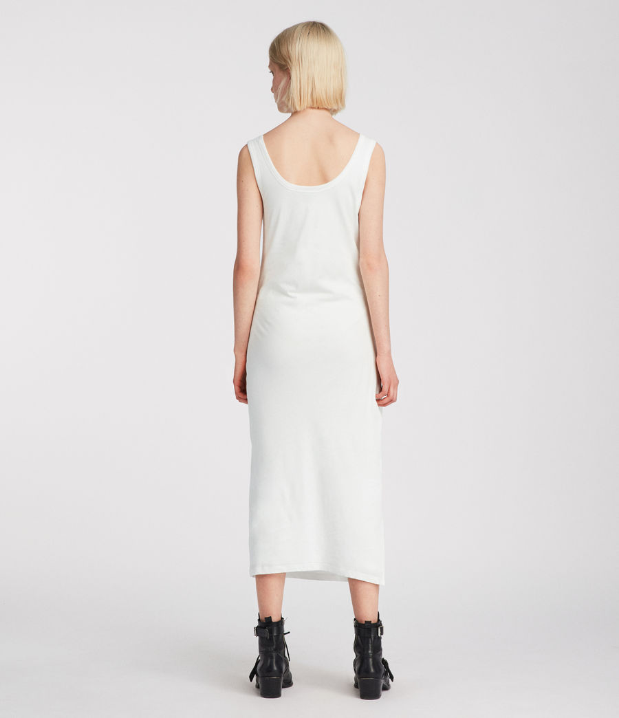 Womens Tina Dress (chalk_white) - Image 5