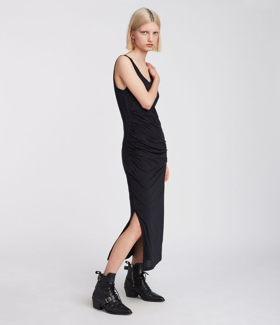 Women's Tina Dress (black) - Image 1