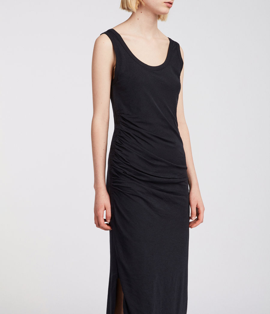 Womens Tina Dress (black) - Image 2