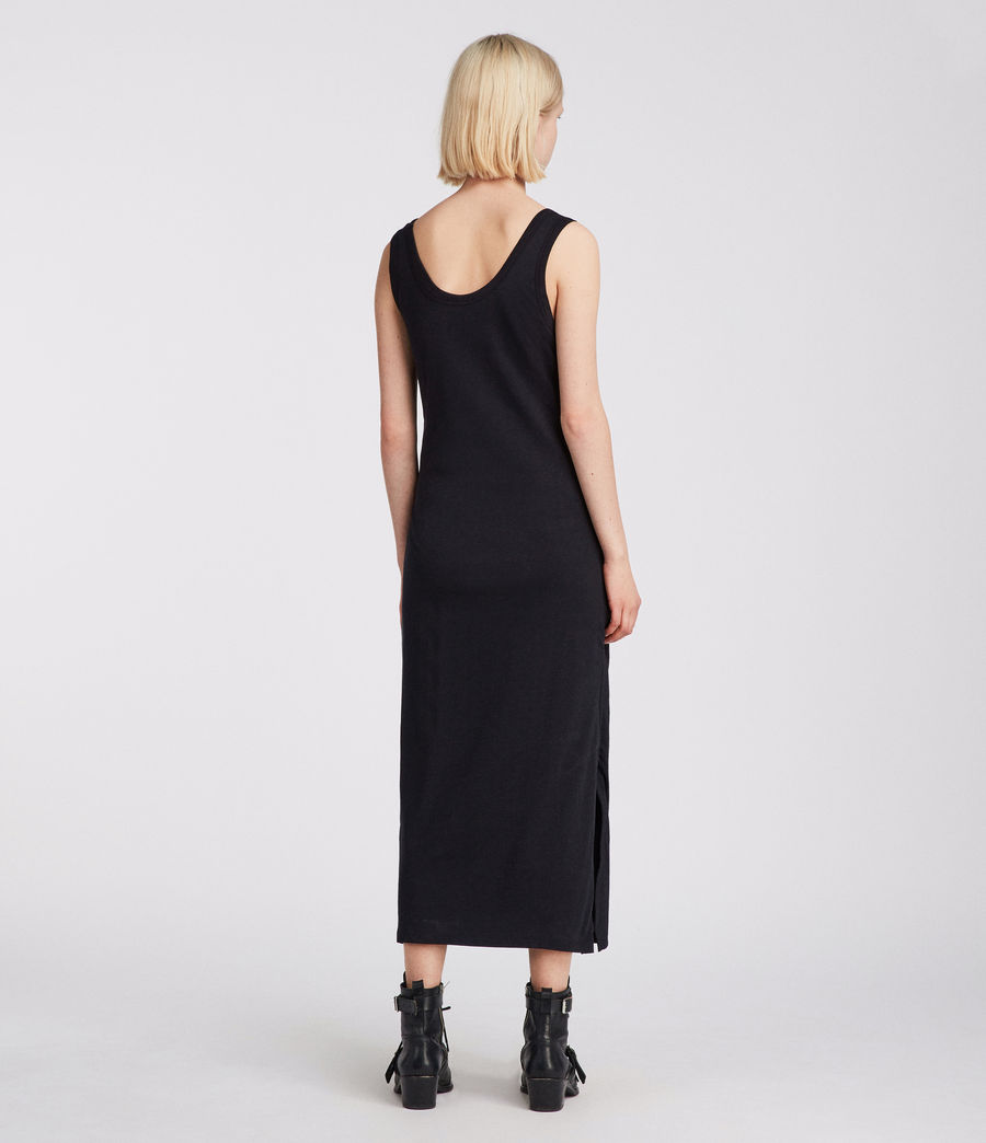Women's Tina Dress (black) - Image 4