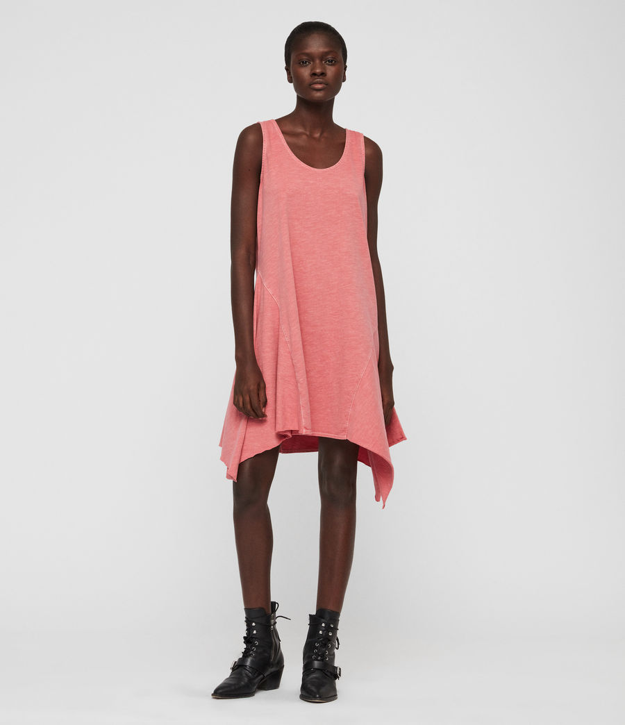 Women's Dewar Dress (azelia_pink) - Image 1