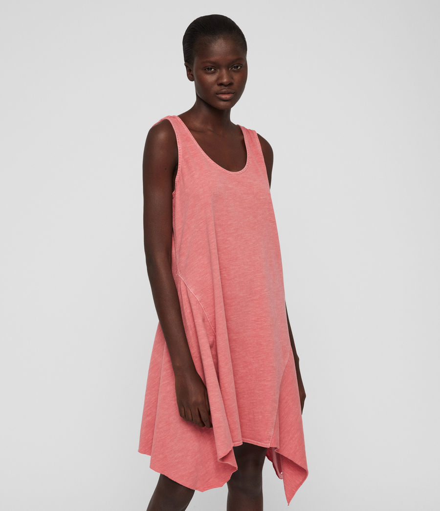 Women's Dewar Dress (azelia_pink) - Image 2