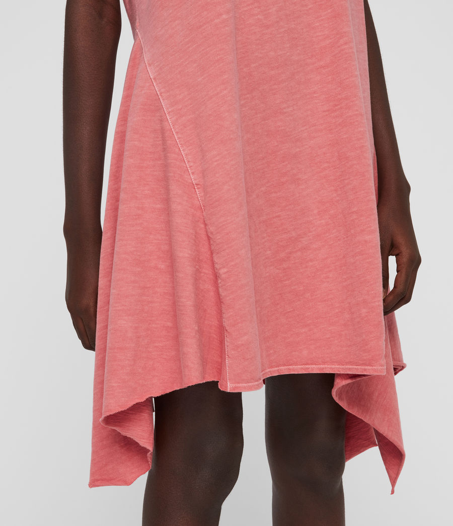 Women's Dewar Dress (azelia_pink) - Image 4