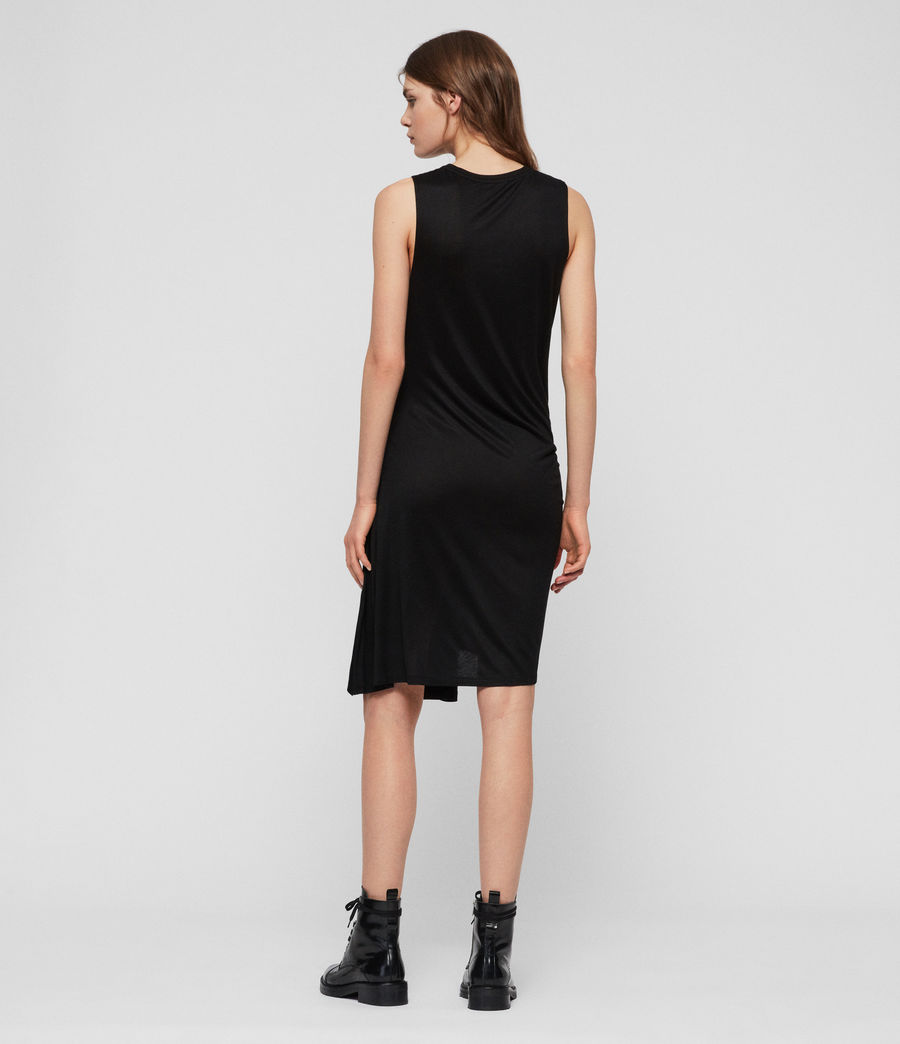 Womens Lisen Dress (black) - Image 5