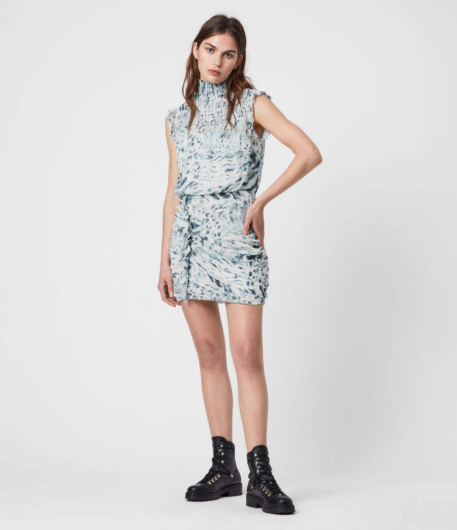 Femmes Elena Perpetua Dress (soft_grey) - Image 1