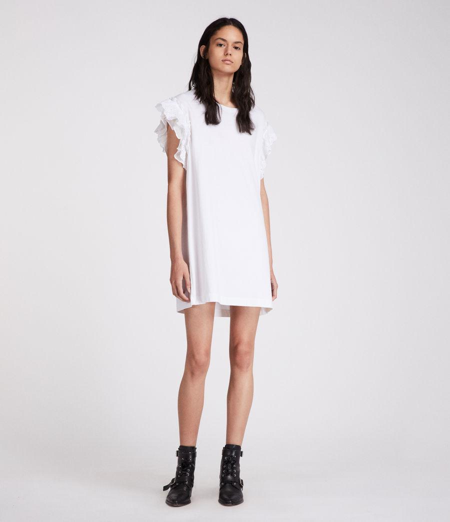 Women's Senna Adelaide Dress (chalk_white) - Image 1