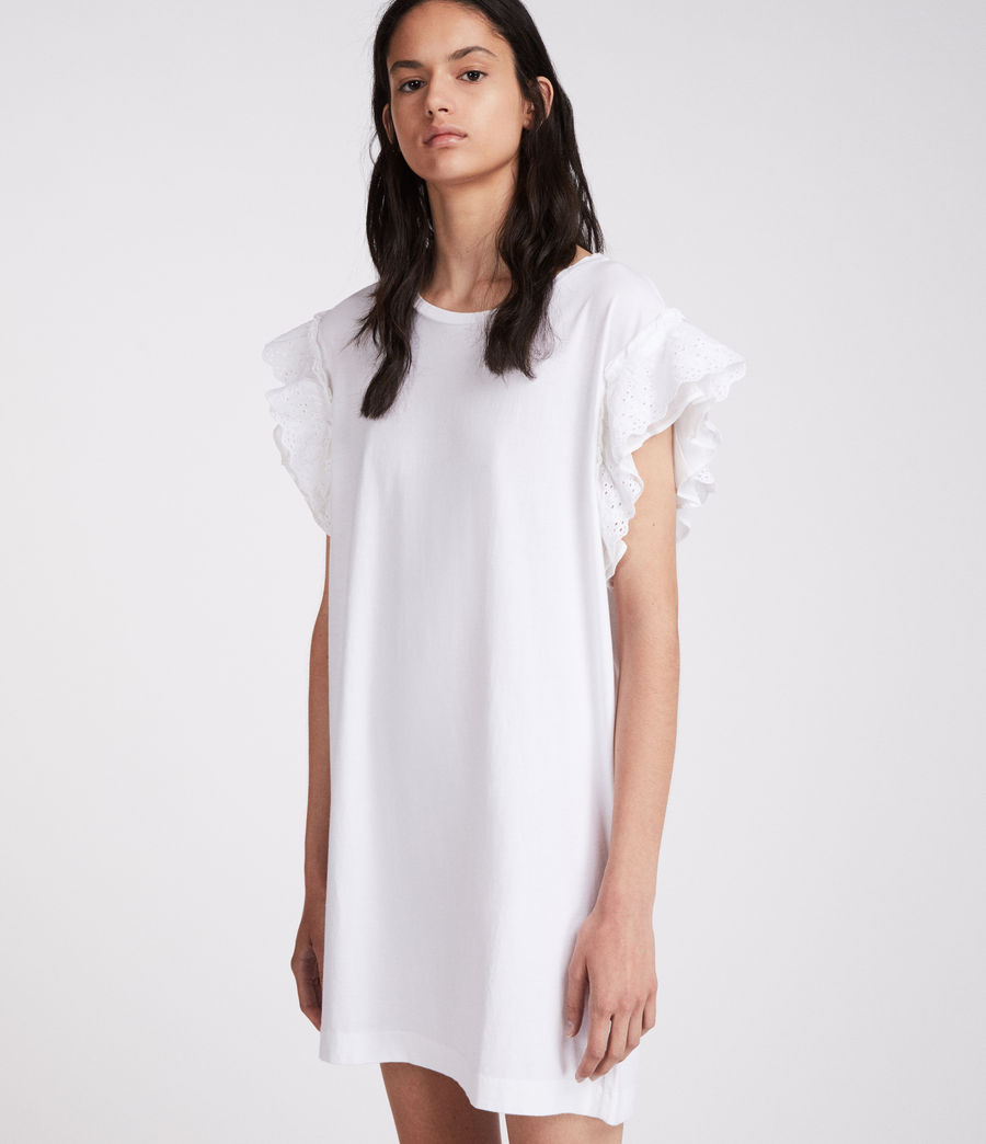 Mujer Vestido Senna Adelaide (chalk_white) - Image 2