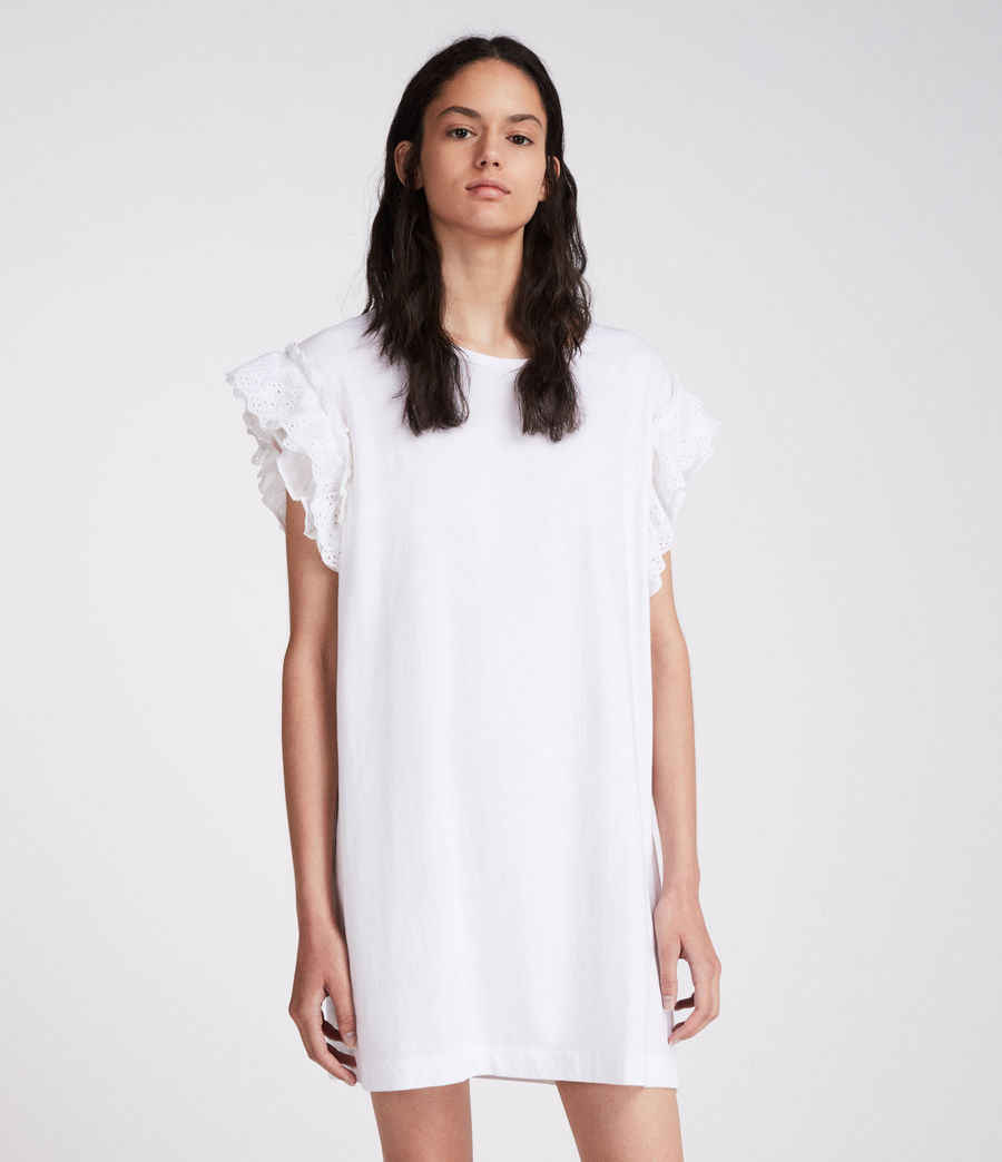 Women's Senna Adelaide Dress (chalk_white) - Image 3