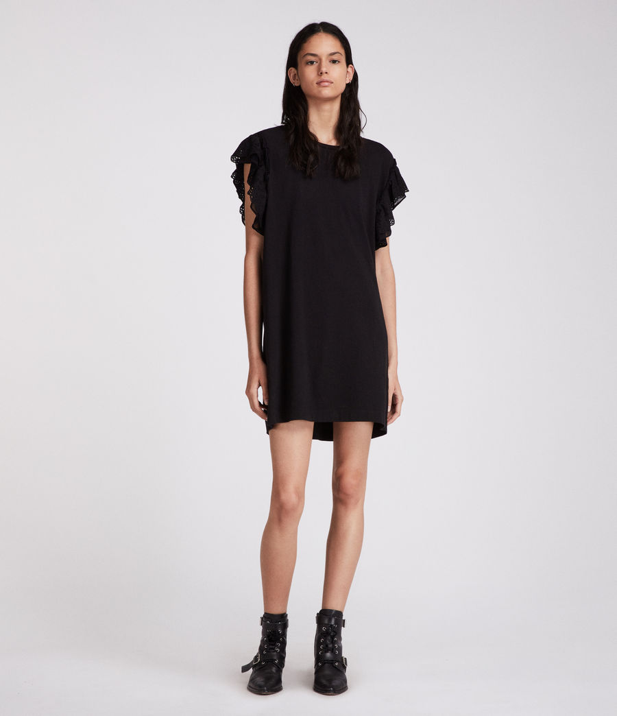 Womens Senna Adelaide Dress (black) - Image 1