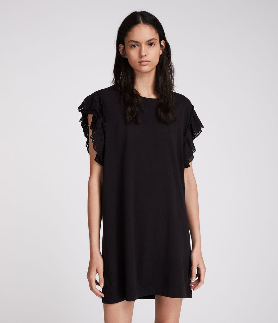 Womens Senna Adelaide Dress (black) - Image 2