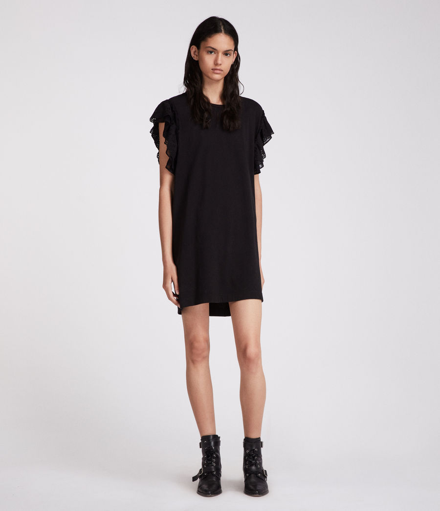 Womens Senna Adelaide Dress (black) - Image 3