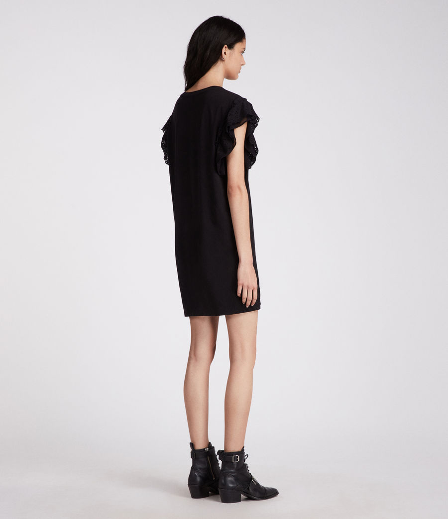 Womens Senna Adelaide Dress (black) - Image 5