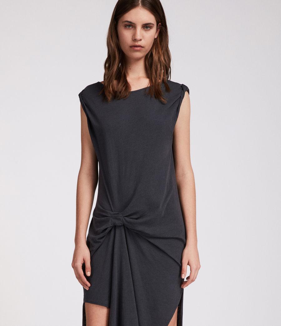 Mujer Vestido Riviera Ida (washed_black) - Image 1