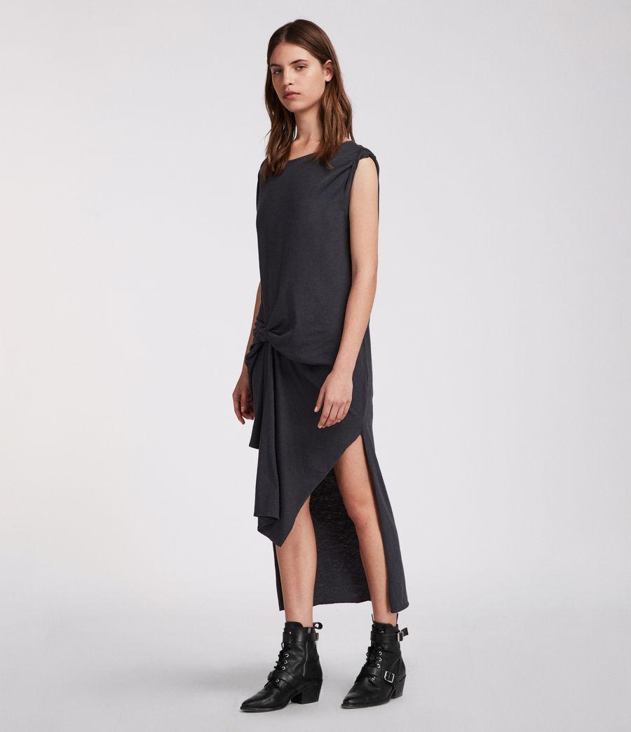 Mujer Vestido Riviera Ida (washed_black) - Image 2