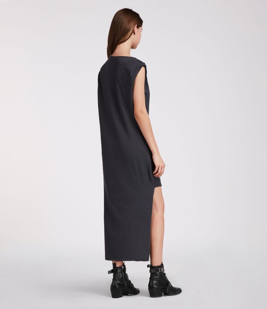 Mujer Vestido Riviera Ida (washed_black) - Image 3