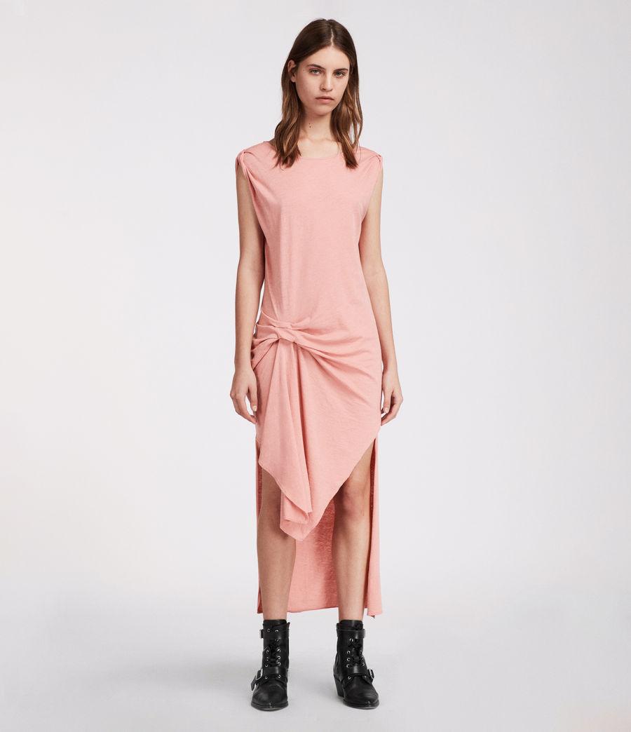 Women's Riviera Ida Dress (peach_pink) - Image 2
