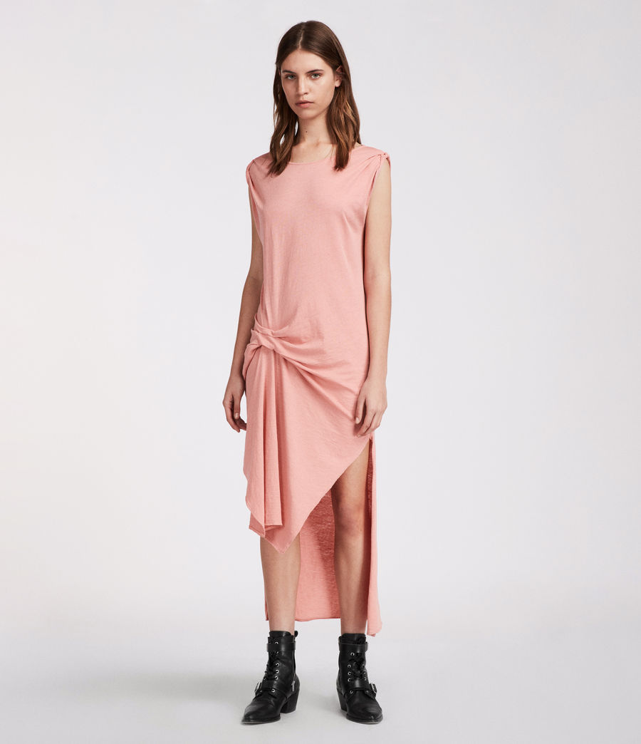 Women's Riviera Ida Dress (peach_pink) - Image 3