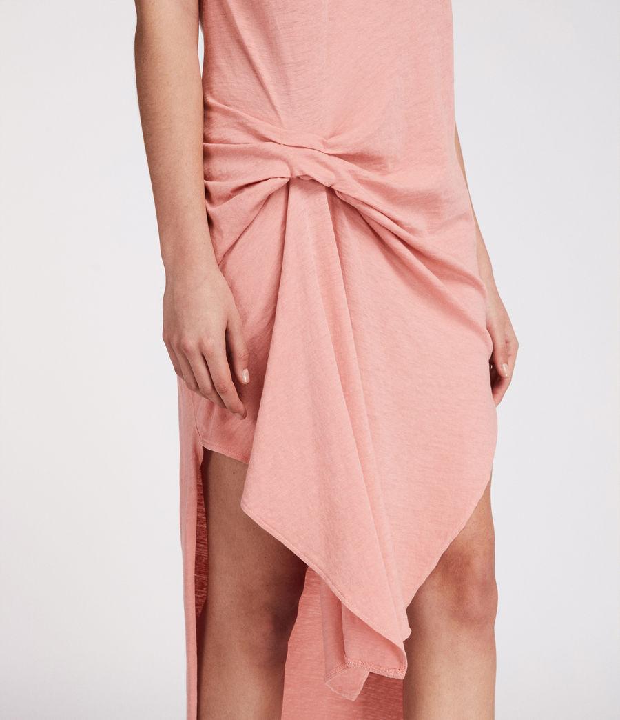 Women's Riviera Ida Dress (peach_pink) - Image 4
