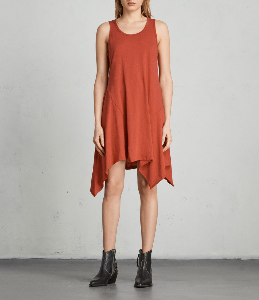 Womens Ella Fifi Dress (poppy_red) - Image 1