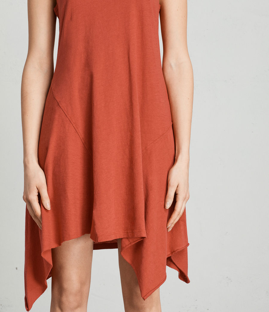 Womens Ella Fifi Dress (poppy_red) - Image 2