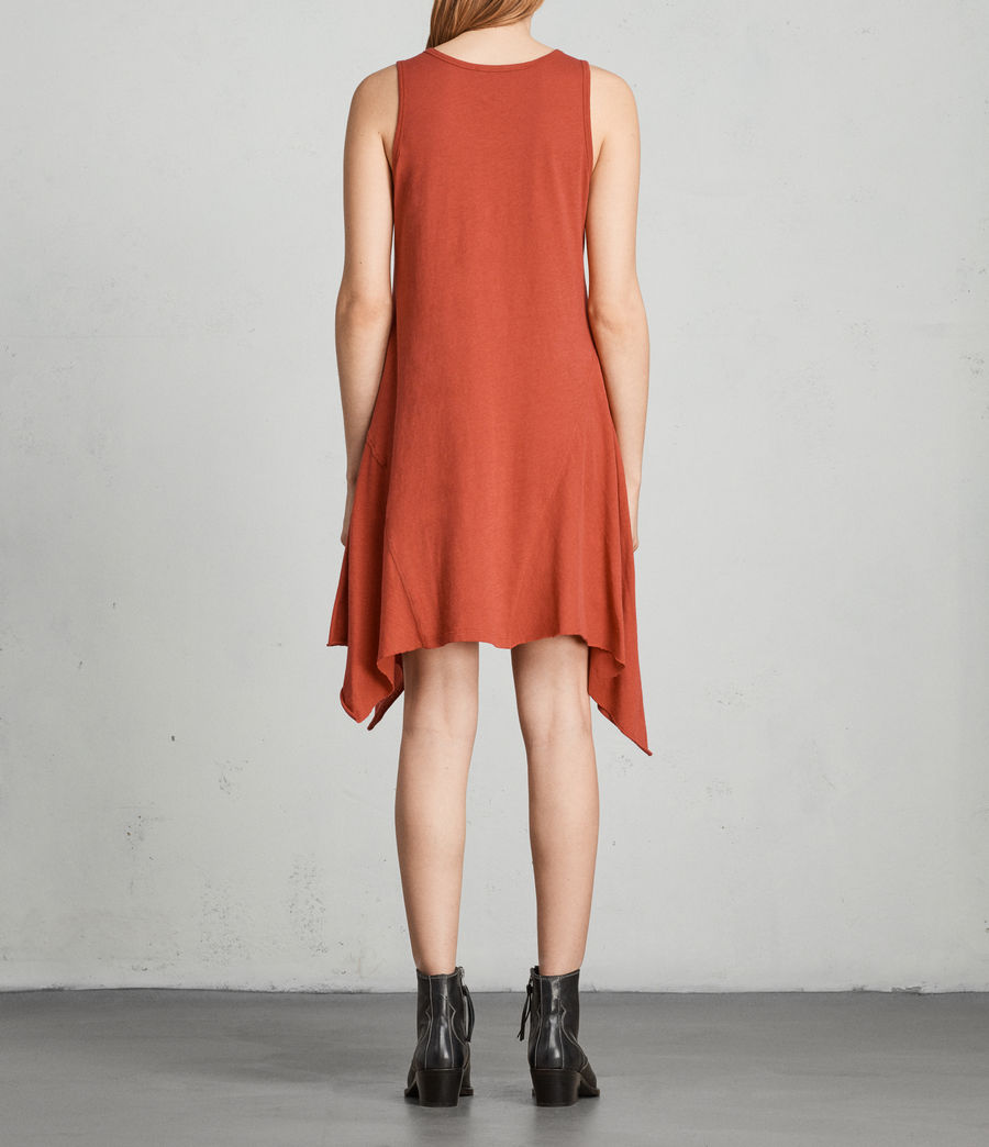 Womens Ella Fifi Dress (poppy_red) - Image 4