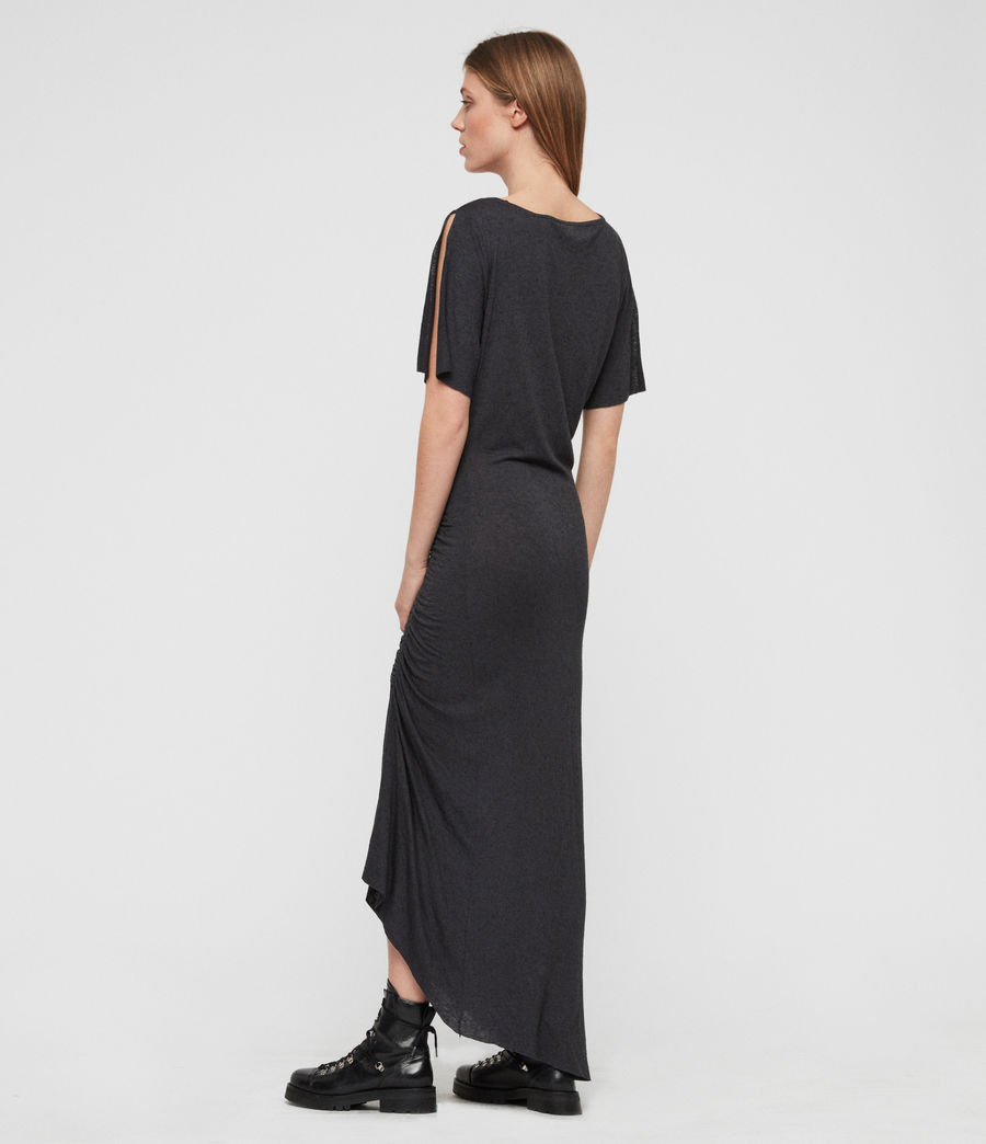 Women's Walla Dress (washed_black) - Image 5