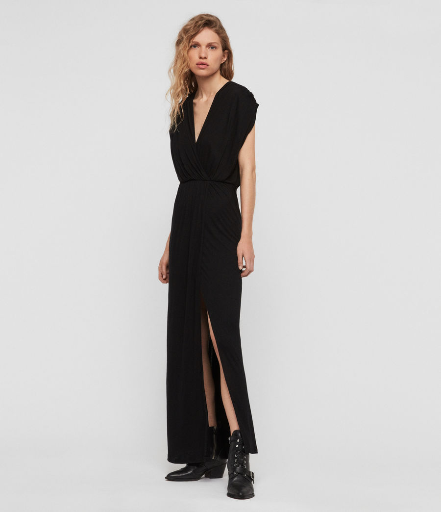 Women's Awane Dress (black) - Image 2
