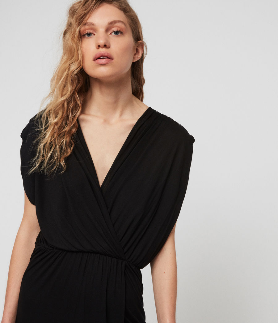 Women's Awane Dress (black) - Image 3