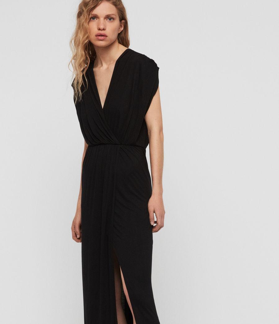 Women's Awane Dress (black) - Image 4