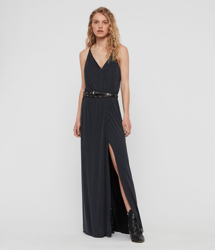 Women's Retis Dress (black) - Image 1