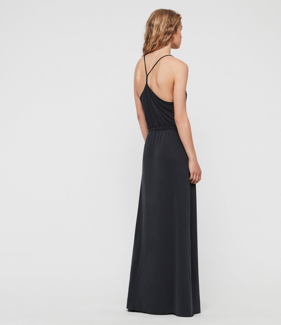 Women's Retis Dress (black) - Image 4