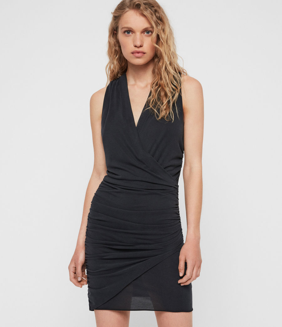 Mujer Vestido Nirman (black) - Image 1