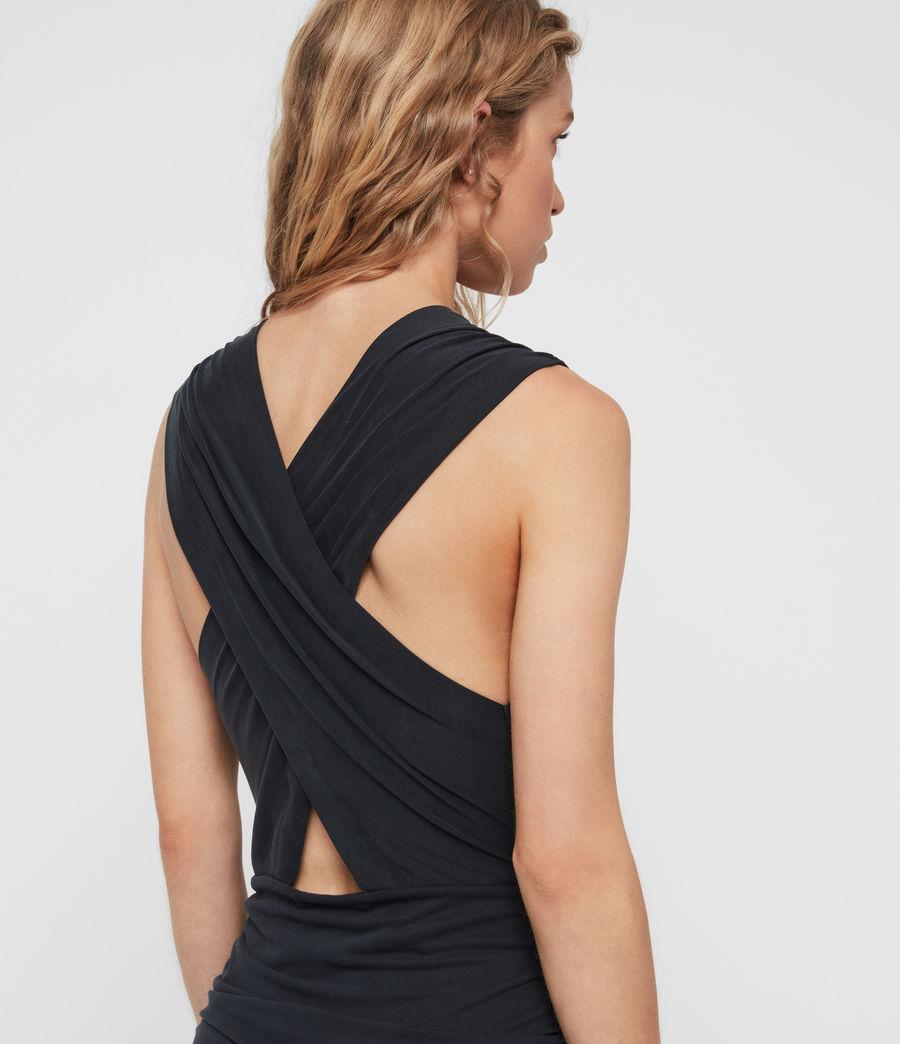 Womens Nirman Dress (black) - Image 3