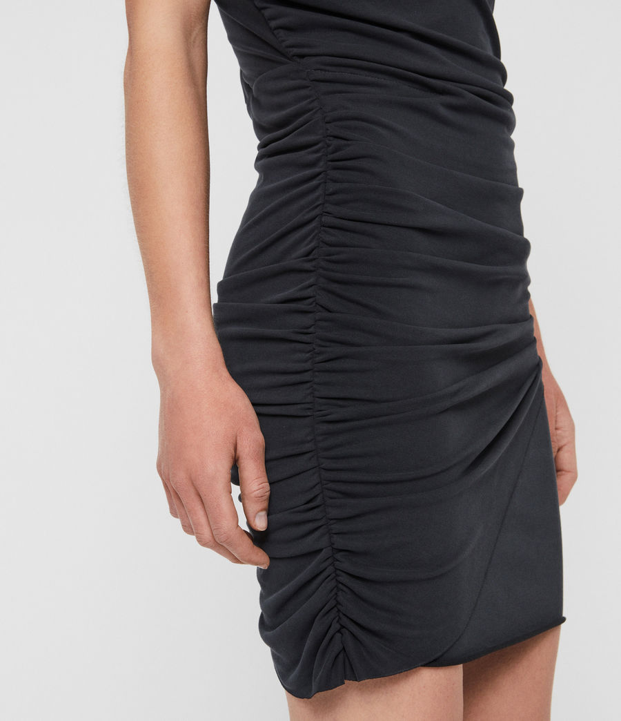 Damen Nirman Kleid (black) - Image 5